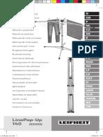 82500 LinoPop Up Leifheit -руководство пользователя