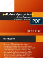 Modern Approaches,Contingency Approach and System Approach.pptx
