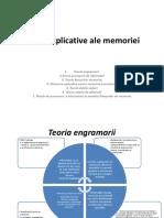 Teorii Explicative Ale Memoriei