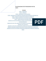 USEPA , 40 CFR Part 136.3 - Identification of Test Procedures