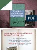 Sejarah Psikoanalisis