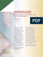 MASCARA DE JOHN HEDJUK