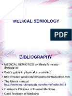 1. Medical Semiology