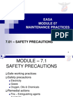 M07-01-B07Pt1Sect13and4-SafetyPrecautions.pptx