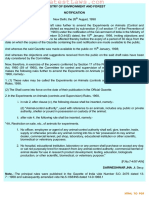 Experiments on Animals (Controls and Supervision) (Amendment) Rules, 1998