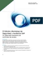 Seguridad y Auditoria SAP