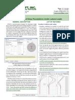 Lpile Description Sheet