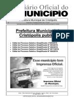 Diario Oficial Cristopolis - A1 News