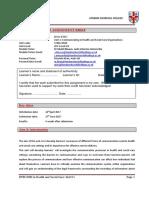 Communication assignment brief