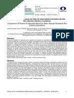 Comparação de esforços em lajes de reservatórios elevados através dos cálculos clássico e numérico