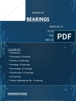 Seminar Ppt Bearings