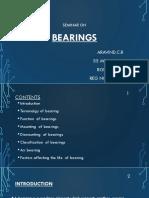 Seminar Ppt Bearings