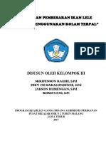 LAPORAN PEMBESARAN IKAN LELE KU.docx