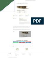 Casa de madera modular prefabricada de madera 1D+1B, barata y de calidad. Ubuild