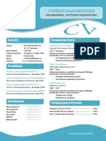 11 Contoh Curriculum Vitae ( CV )  Daftar Riwayat Hidup atau Resume Ms. Word.docx