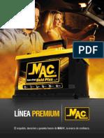 Baterías Mac especificaciones