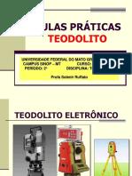 AULAS PRÁTICA TEODOLITO