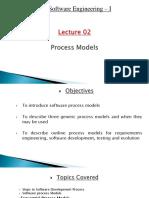 SE Lecture 2