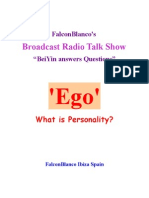 """Ego"" - What is Personality?"