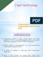 Hvdc Light Technology