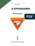 Dossier Exploradores Administración