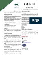 1.- VpCI-101 Ficha Tecnica