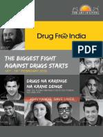 Drug free India