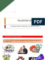 Clase 1 Comunicación Funciones Del Lenguaje