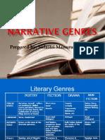 Narrative Genres