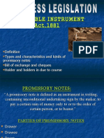 Group No 5 (Mba Ft) Negotiable Instrument Act,1881