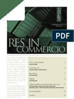 Res in Commercio 10/2010