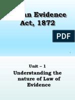 Evidence- Unit 1