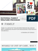National Family Welfare Program