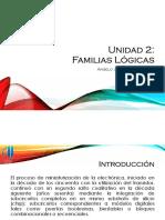 Unidad 2 - Familias Logicas (1)