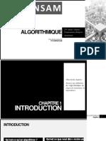 Algorithmique Chapitre 1 - Introduction (1)