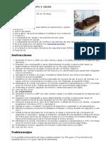 Bizcocho de plátano y cacao. Saludable.pdf