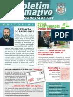 Boletim Informativo N.º 15 - Maio/2007