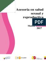 Asesoria en salud sexual y reproductiva