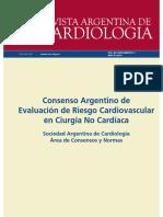 Conceso Argentino de La Evaluación del Riesgo Cardiovascular