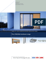 General Lift Slide Hardware Range