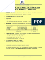 Curso de Conciliacion Lima CFE 2019