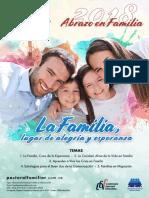 afiche ABRAZO EN FAMILIA