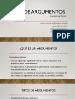 TIPOS DE ARGUMRNTACION.pptx
