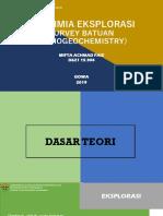 Lithogeochemistry oleh Mifta Achmad Faiz (D621 15 304)