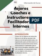 Curso Mejores Coaches e Instructores y Facilitadores Internos