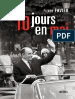 Dix Jours en Mai - Favier, Pierre