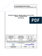 (ihs) PEL - PL - CAL - 003  Pipeline Stability and Bouyancy Calculation Benoa - Pesanggaran (rev 0).docx