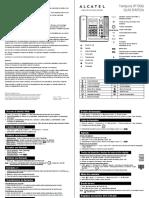 Alcatel Phone Temporis Ip700g Manual Usuario Es