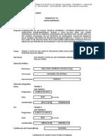TRAMO II - SUB TRAMO II -  RECONOCIMIENTO DE CAMPO.xls