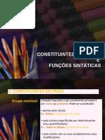 CONSTITUINTES DA FRASE.ppsx